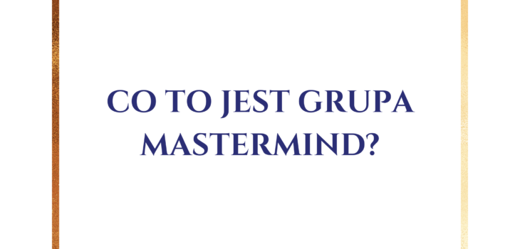 co to jest grupa mastermind